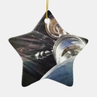Temps de narguilé ornement étoile en céramique