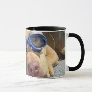 Temps de natation mug