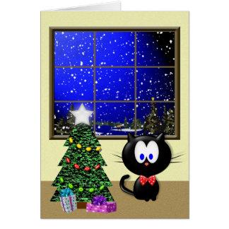 Temps de Noël Carte De Vœux