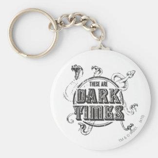 Temps d'obscurité du charme | de Harry Potter Porte-clés