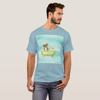 Temps triste de chien pour le T-shirt rare