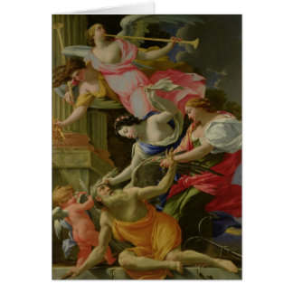 Temps vaincu par l'amour, le Vénus et l'espoir Cartes