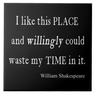 Temps volontairement de rebut cette citation de grand carreau carré