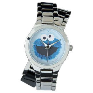 Tendance d'aquarelle du monstre | de biscuit montres bracelet