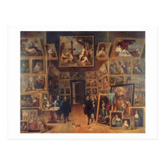 Teniers le plus jeune - Erzherzog Leopold Wilhelm Carte Postale