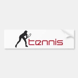 tennis autocollant de voiture