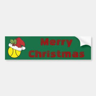Tennis de Joyeux Noël Autocollant Pour Voiture