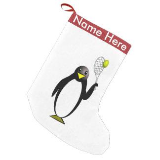 Tennis de pingouin petite chaussette de noël