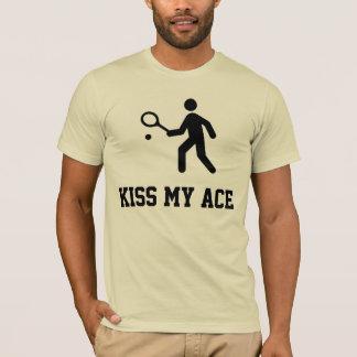 """Tennis drôle """"baiser T-shirt de mon as"""""""