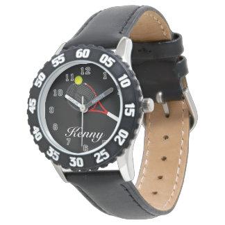 Tennis inoxydable de l'encadrement réglable de montres