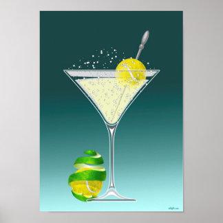 Tennis Martini, tennis Affiche