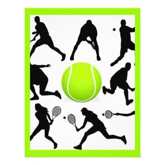 tennis prospectus 21,6 cm x 24,94 cm