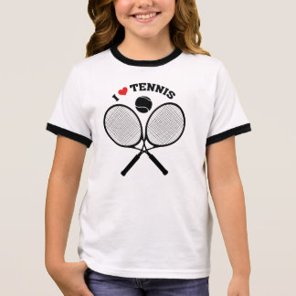 Tennis T-shirt Ras-de-cou
