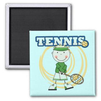TENNIS - T-shirts et cadeaux blonds de garçon Aimant