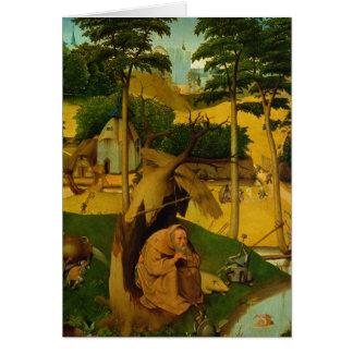 Tentation de St Anthony, 1490 Cartes