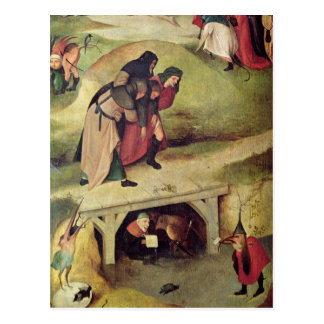 Tentation de St Anthony Carte Postale