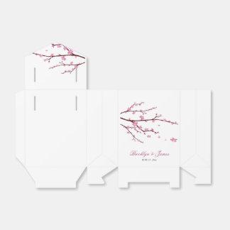 Tente de ballotin de mariage de fleurs de cerisier boites faveurs de mariage