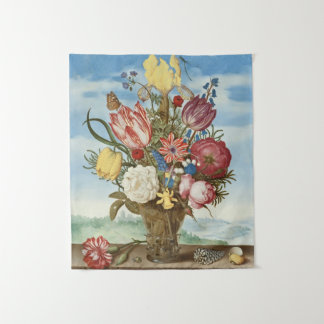 Tenture Murale Bouquet des fleurs sur un rebord