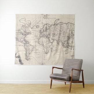 tentures tapisseries vintage. Black Bedroom Furniture Sets. Home Design Ideas