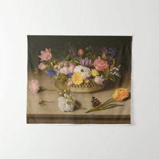 Tenture Murale De fleur toujours la vie Ambrosius Bosschaert