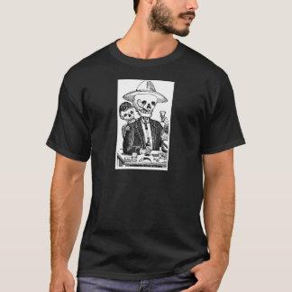 Tequila potable squelettique et tabagisme, le t-shirt