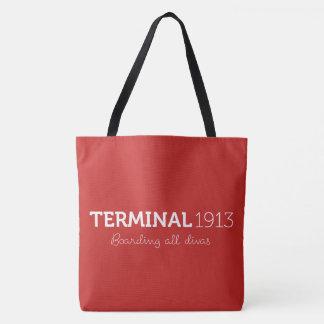 Terminal 1913 grand Fourre-tout rouge Sac