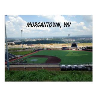 Terrain de base-ball près de Morgantown, cartes