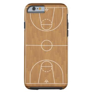 Terrain de basket coque iPhone 6 tough
