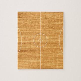 Terrain de basket puzzle