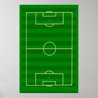 Terrain de football affiche