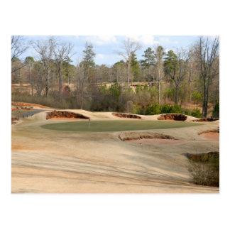 terrain de golf cartes postales