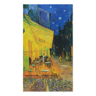 Terrasse de café de Van Gogh | la nuit | 1888 Carte De Visite Standard
