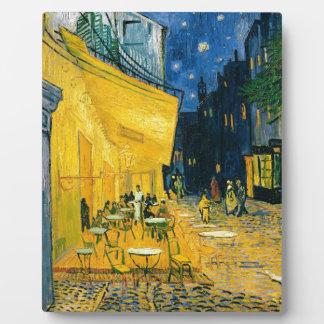 Terrasse de café de Vincent van Gogh |, Place du Plaque Photo