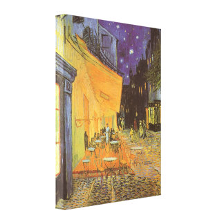 Terrasse de café la nuit par Vincent van Gogh Toiles