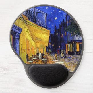 Terrasse de café par des beaux-arts de Van Gogh Tapis De Souris En Gel