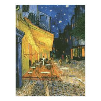 Terrasse de café - Vincent van Gogh Carte Postale