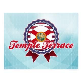 Terrasse de temple, FL Carte Postale