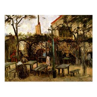 Terrasse des beaux-arts de Montmartre de café Cartes Postales