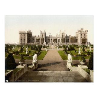Terrasse est c.1895 de château de Windsor Carte Postale