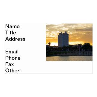 Terrasse et promenade carte de visite standard