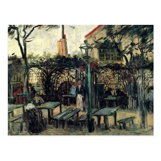 Terrasse sur la La Guinguette de Montmartre par Carte Postale