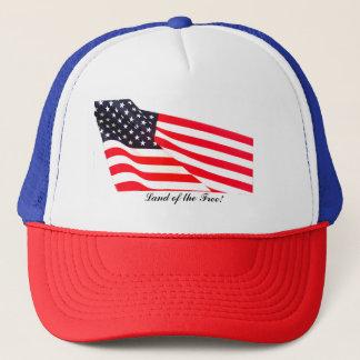 Terre de drapeau des USA du casquette libre de
