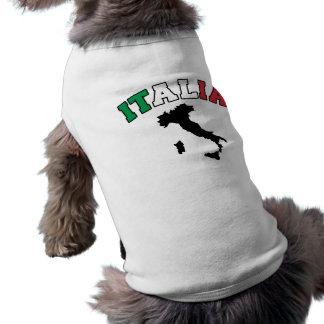 Terre de l'Italie T-shirt Pour Chien