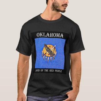 Terre de l'Oklahoma des personnes rouges T-shirt