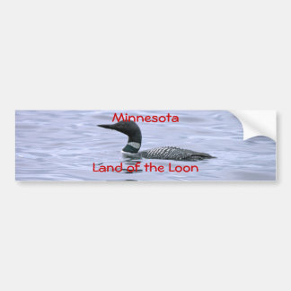 Terre du Minnesota du dingue Autocollant De Voiture