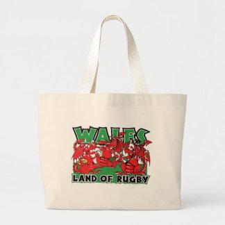 Terre du Pays de Galles de rugby Grand Sac