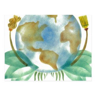 Terre : Nettoyez-la Carte Postale