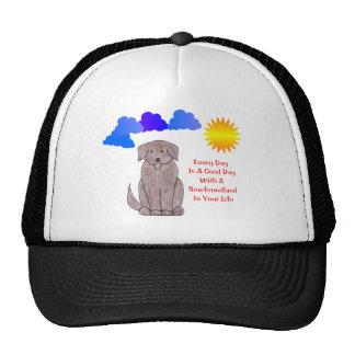 Terre-Neuve chaque jour est un chapeau de beau jou Casquettes De Camionneur