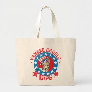 Terrier chauve américain patriotique grand sac