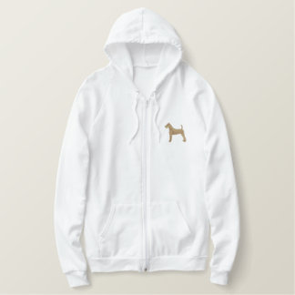 Terrier irlandais sweat-shirt à capuche brodé